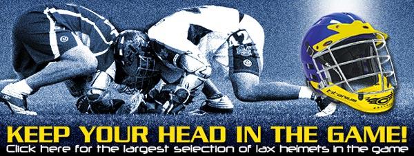 Lacrosse Custom Helmets Spotlight